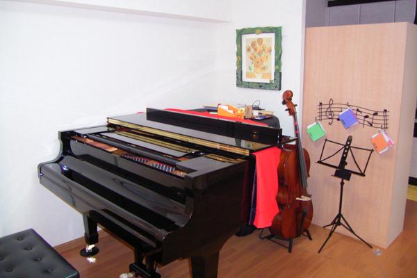 ピアノ室 星様